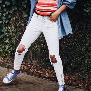 Abercrombie Allie Slouch Acid Boyfriend Jeans